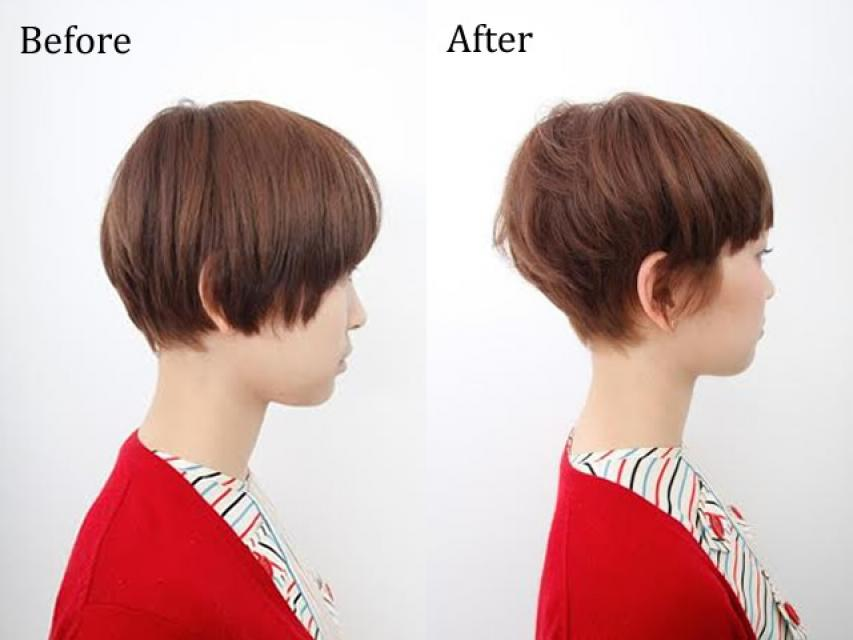 なぜ「小顔補正立体カット」は、髪にやさしいのですか??